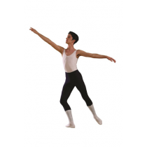 Boys-white-ballet-leotard-sleeveless