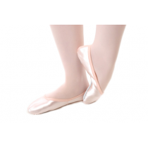 Classic full sole satin ballet shoes