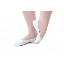 Classic-leather-full-sole-ballet-shoes-White