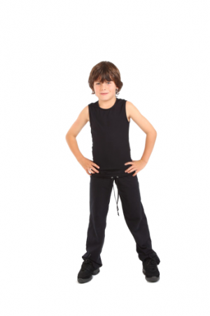 Boys-fitted-vest-dance-top-practice-wear